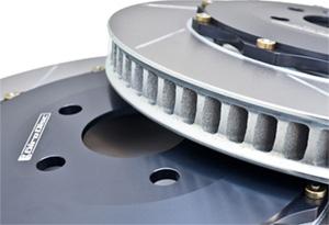 Вентиляция составного тормозного диска