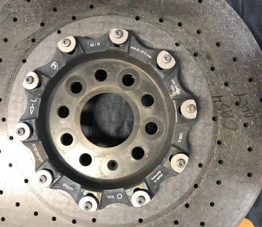 Углеродно керамический тормозной диск