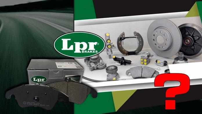 Тормозные колодки LPR (ЛПР) - обзор, отзывы, экспертное мнение